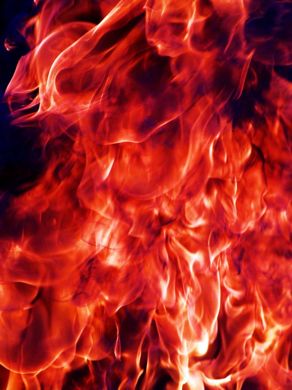 fire flame heat hot